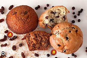 BRAN MUFFIN - BLUEBERRY MUFFIN
